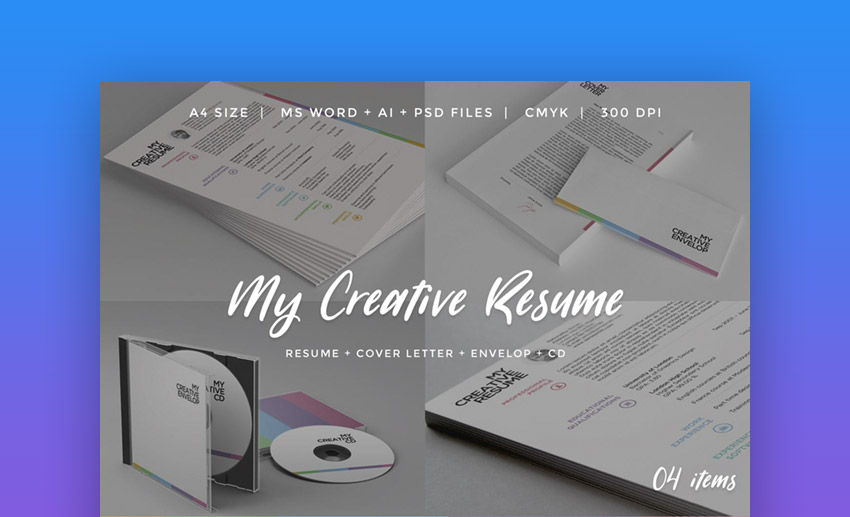 My Creative Resume - Color Resume Templates
