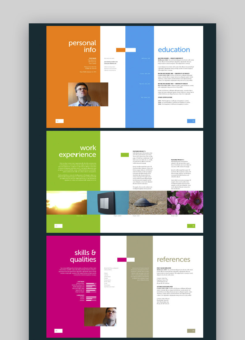 20 Cool & Colorful Resume Templates (To Stand Out Creatively)