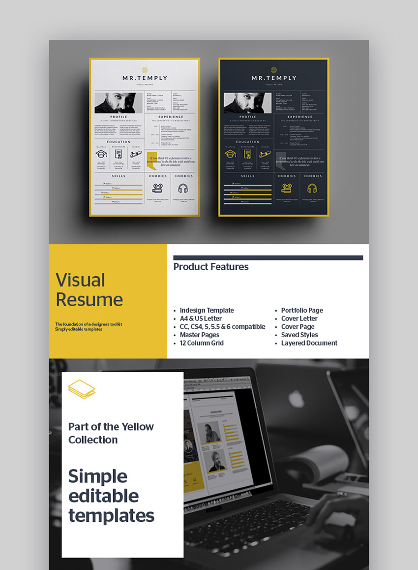 Visual Resume Complete Package