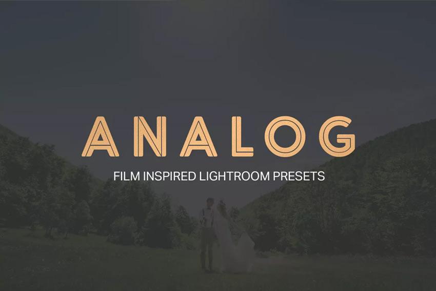 Analog Film Inspired Lightroom Presets