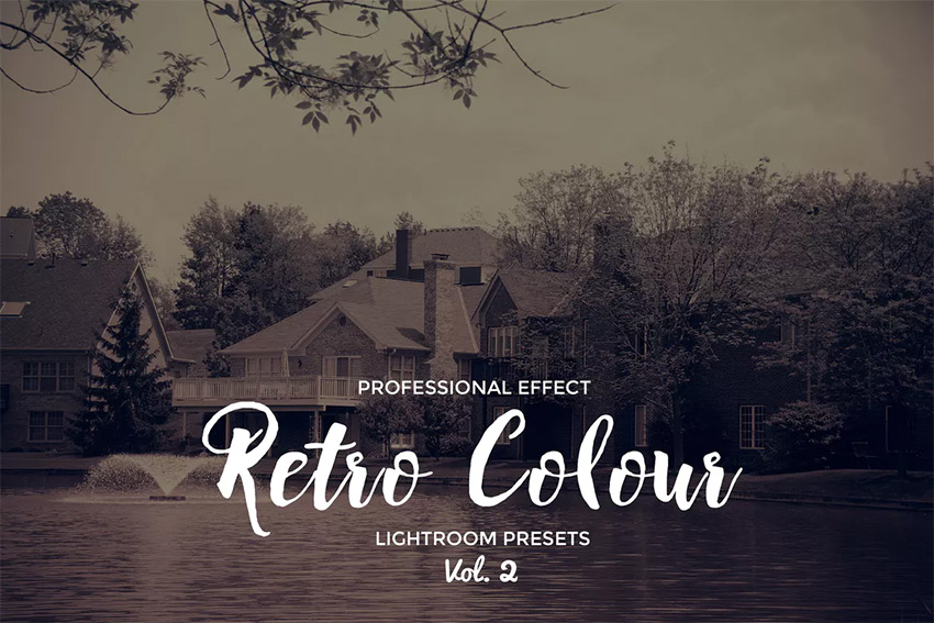 Retro Colour Lightroom VOl 2