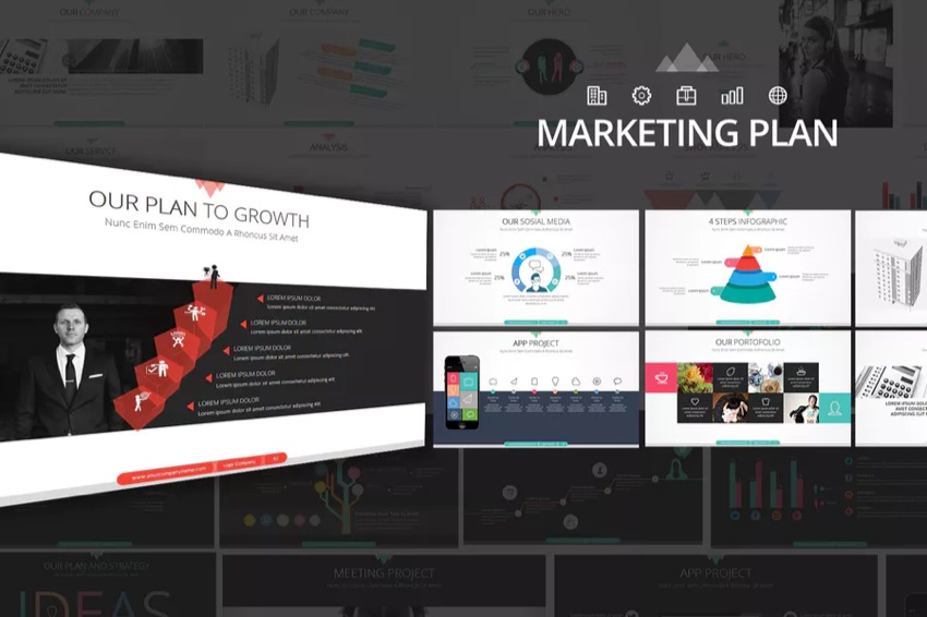 Marketing Plan Powerpoint Presentation Template Envato Elements