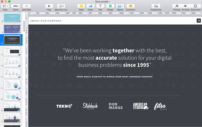 How to Use Keynote Slides (Layout Dimensions, Sizes, & Design)