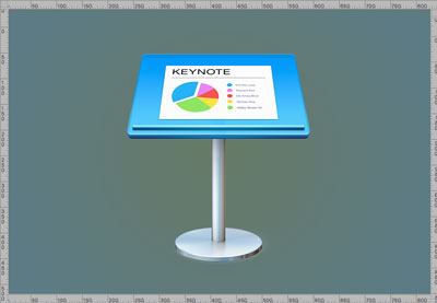 Keynote icon sized