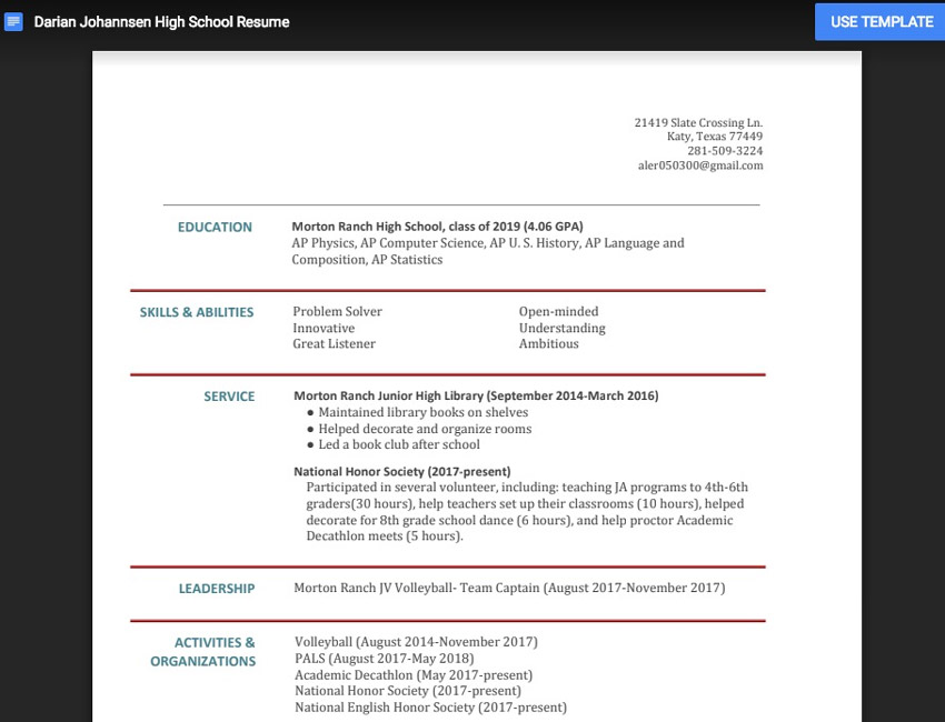 25 Free Google Docs Microsoft Word Resume Cv Templates 2019