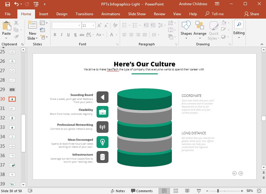 How to Use Infographic Templates for PowerPoint Presentations