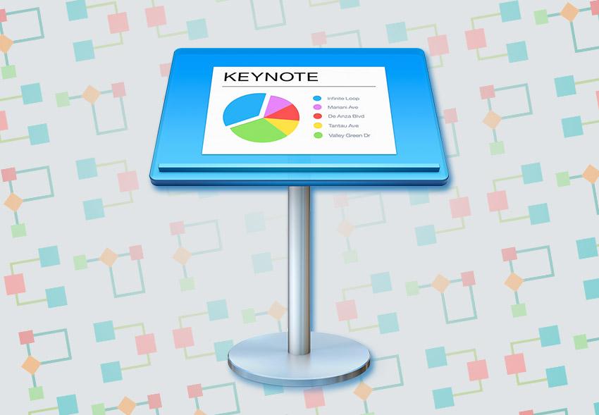 Keynote Flowchart and Gantt Icon