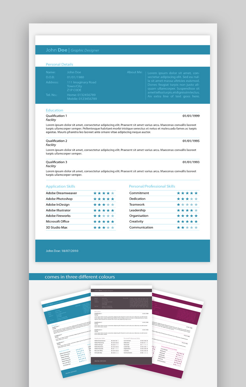 25 top one-page resume templates (with simple to use examples)