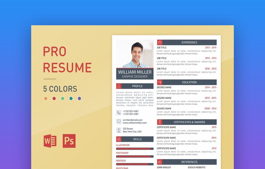 20 top one page resume templates with simple to use examples