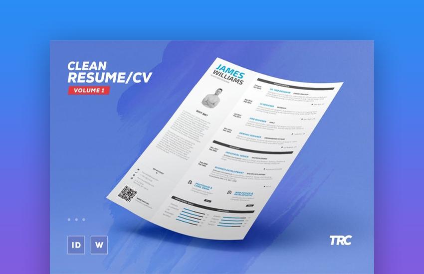 Clean ResumeCV Volume 1