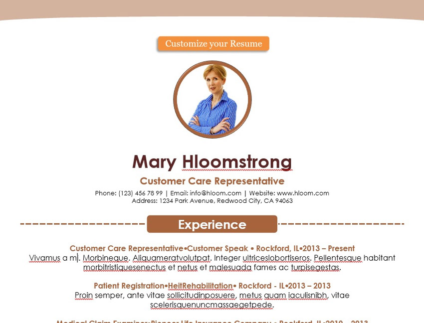 A Bright Colorful Resume Template Like This One Wont Go Unnoticed By Reviewer The Sharp Color Scheme And Content Placeholders Make It Good For