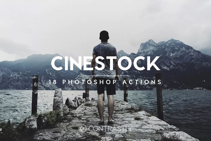 4 Cinestock Photoshop Actions