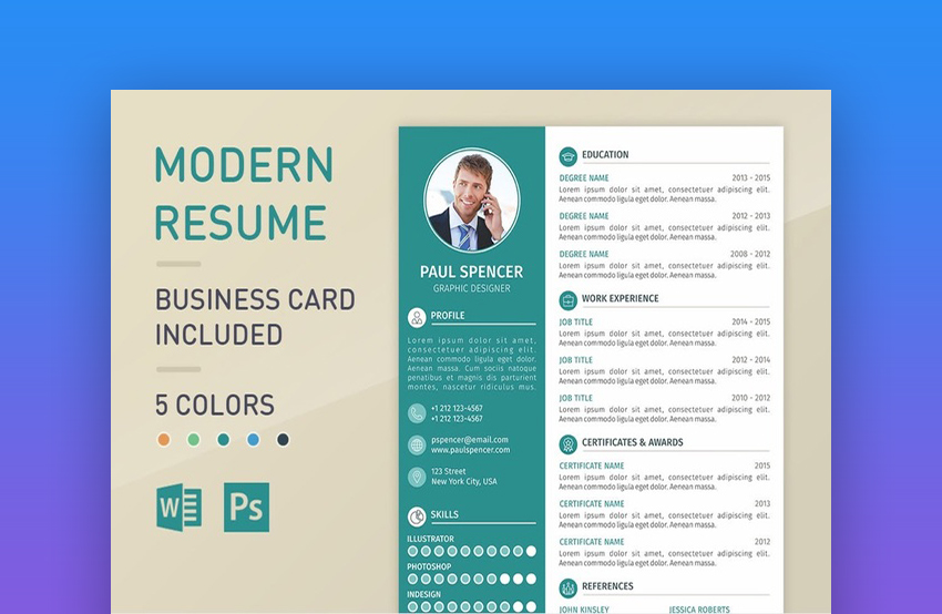 best in 2018 professional resume design templates cool modern