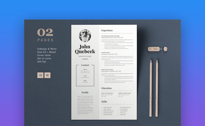 Best in 2018: Professional Resume Design Templates (Cool + Modern)