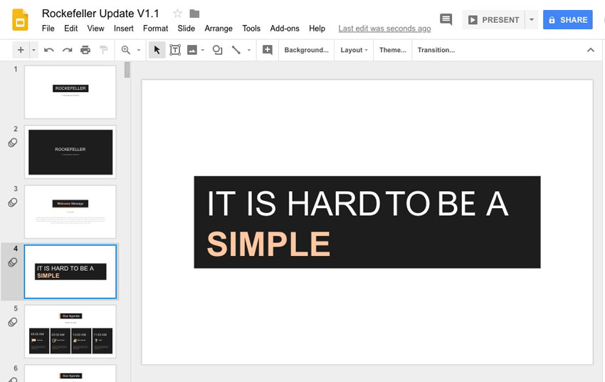 how to change pdf into slides