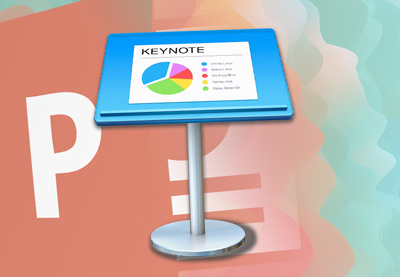 Keynote to powerpoint icon