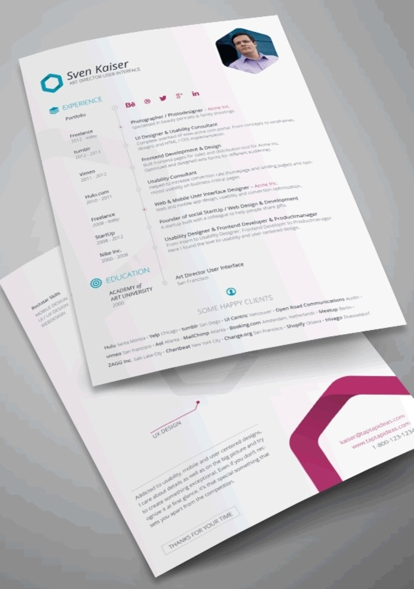 40+ Best InDesign Resume Templates (Free + Pro Downloads)