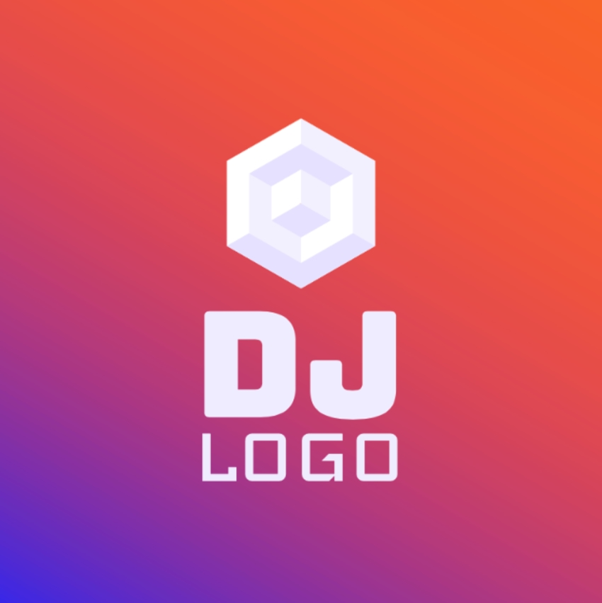 20 Cool DJ (EDM Music) Logo Designs (To Make Your Own)