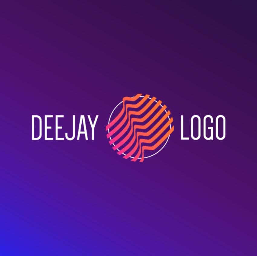 20 Cool DJ (EDM Music) Logo Designs (To Make Your Own)