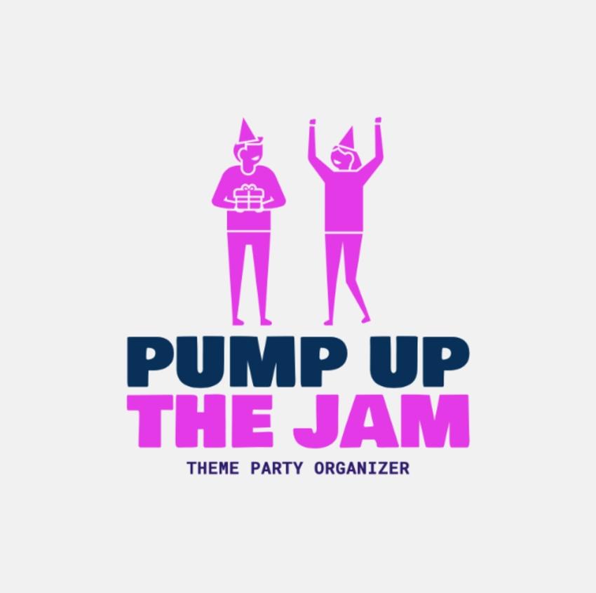 Logo Template Theme Party