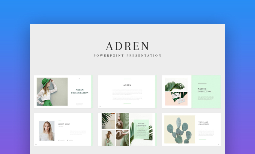 Adren PowerPoint Template