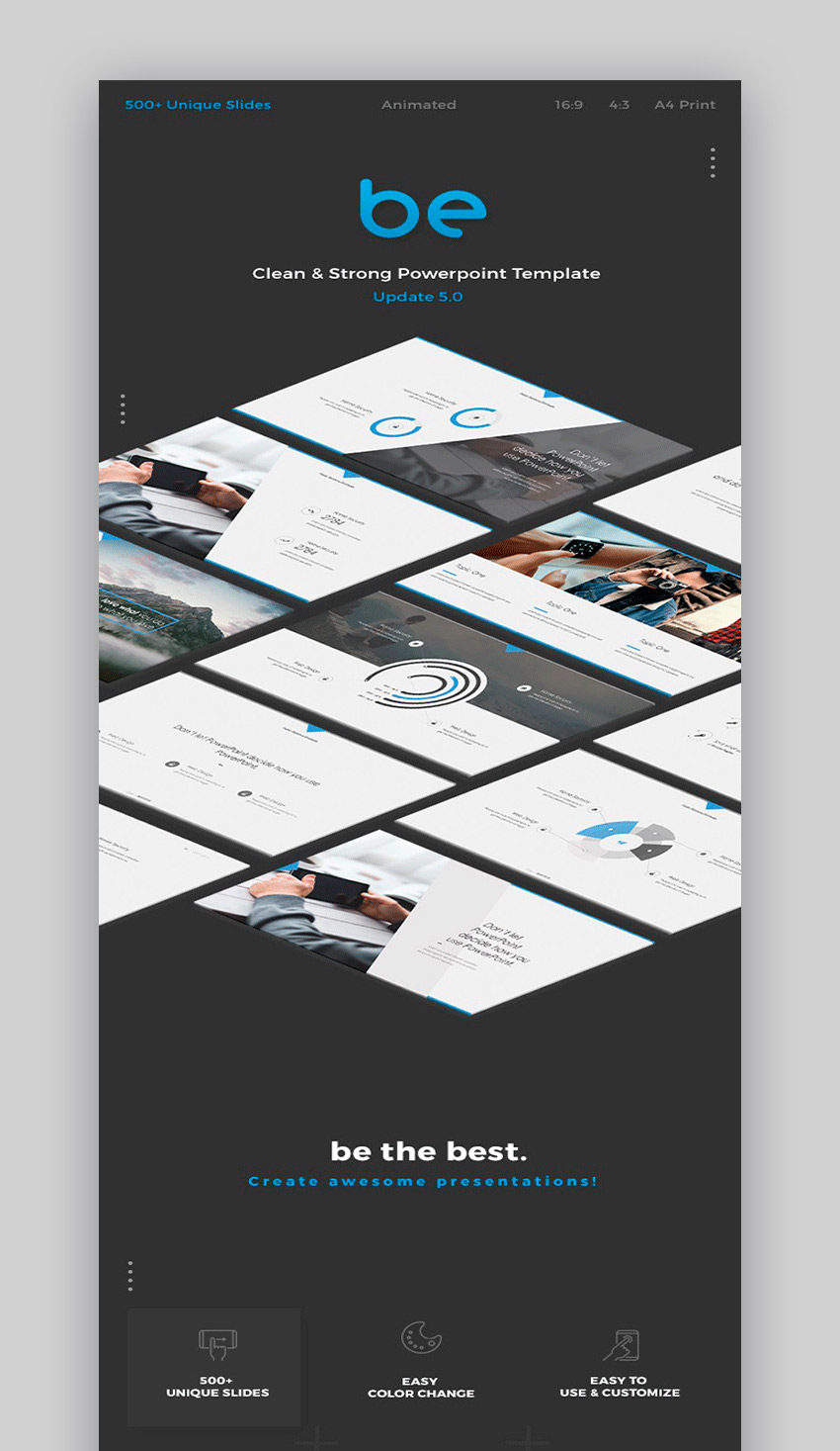 be PowerPoint Template