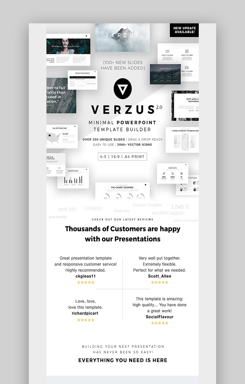 Verzus Slide Presentation Design