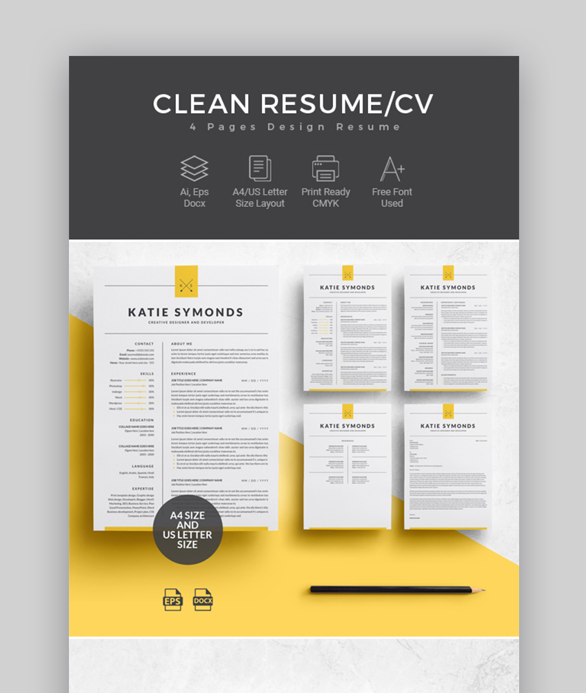 professional modern resume template free download  u2022 blackbackpub com