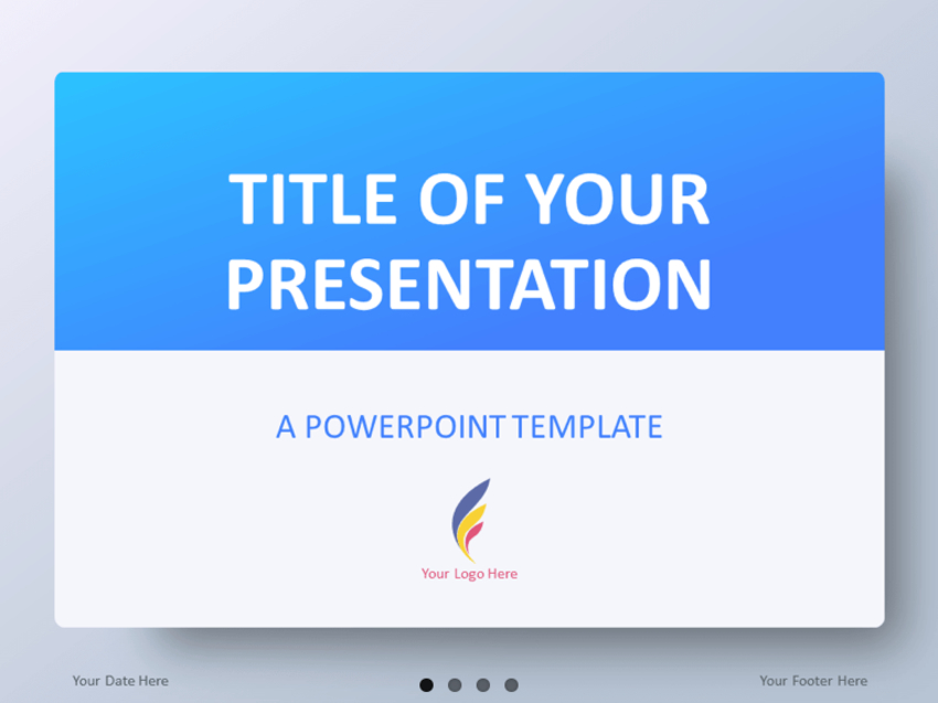 Blue Gradient PowerPoint Templates