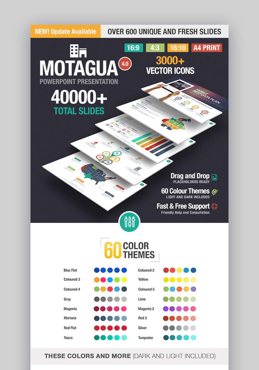 Motagua PPTX Template