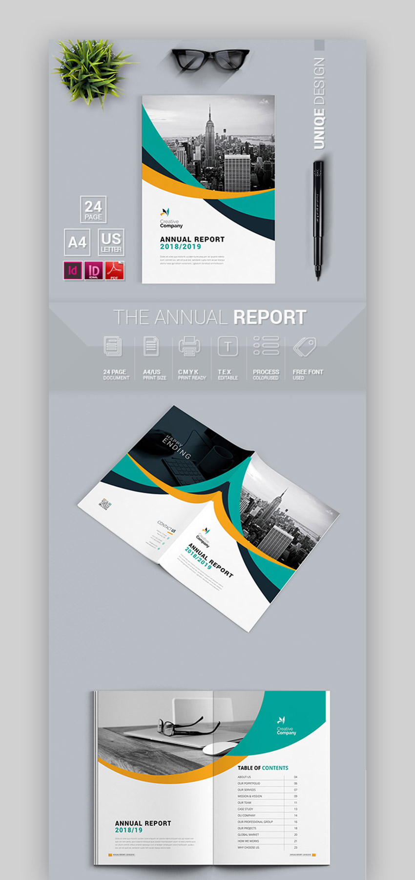 Annual Report Company Profile