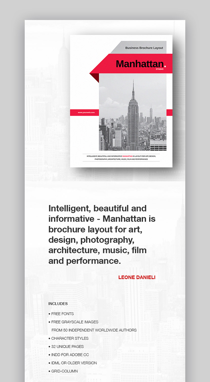 Manhattan Business Brochure