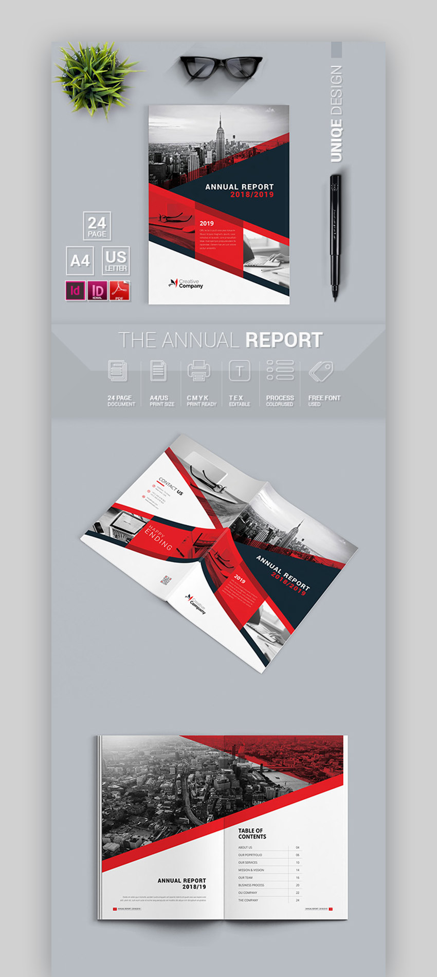 Bold Annual Report Template