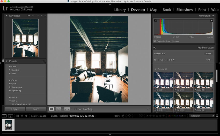 How to Use Profiles in Adobe Lightroom