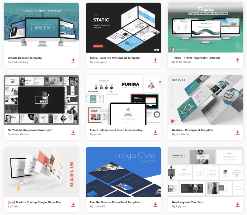 The Best New Presentation Templates Of 2020 Top Powerpoint Ppts More
