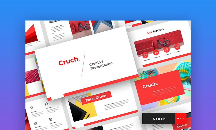 Cruch Creative PowerPoint Template