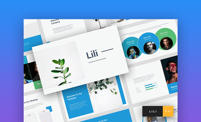 Lili Creative Google Slides Template