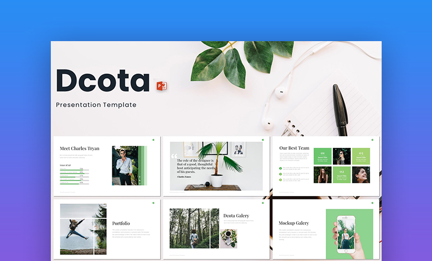 Dcota PowerPoint Template