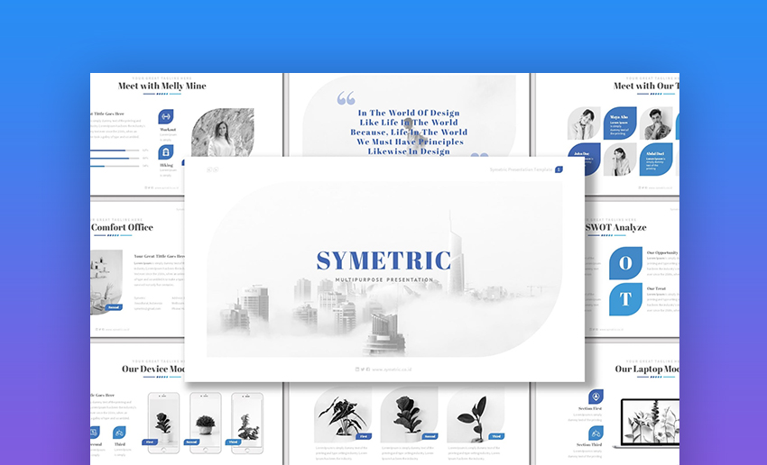 Symetric Keynote Template