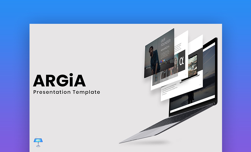 Argia Keynote Template