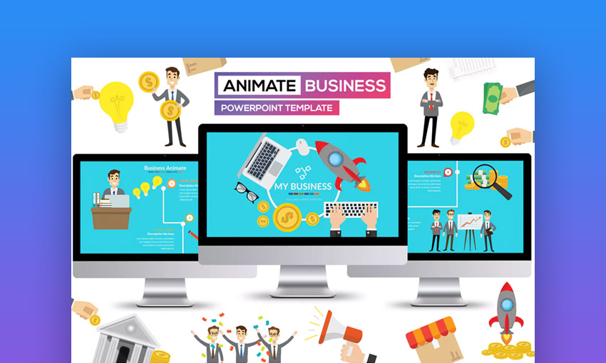 25 Animated PowerPoint Templates With Amazing Interactive Slides