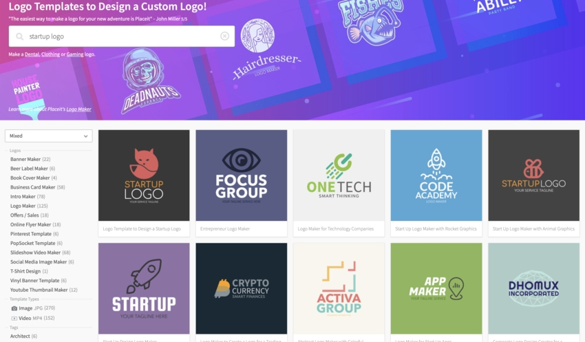 19+ Best Tech & Cool Startup Logo Designs (Inspiration for 2019)