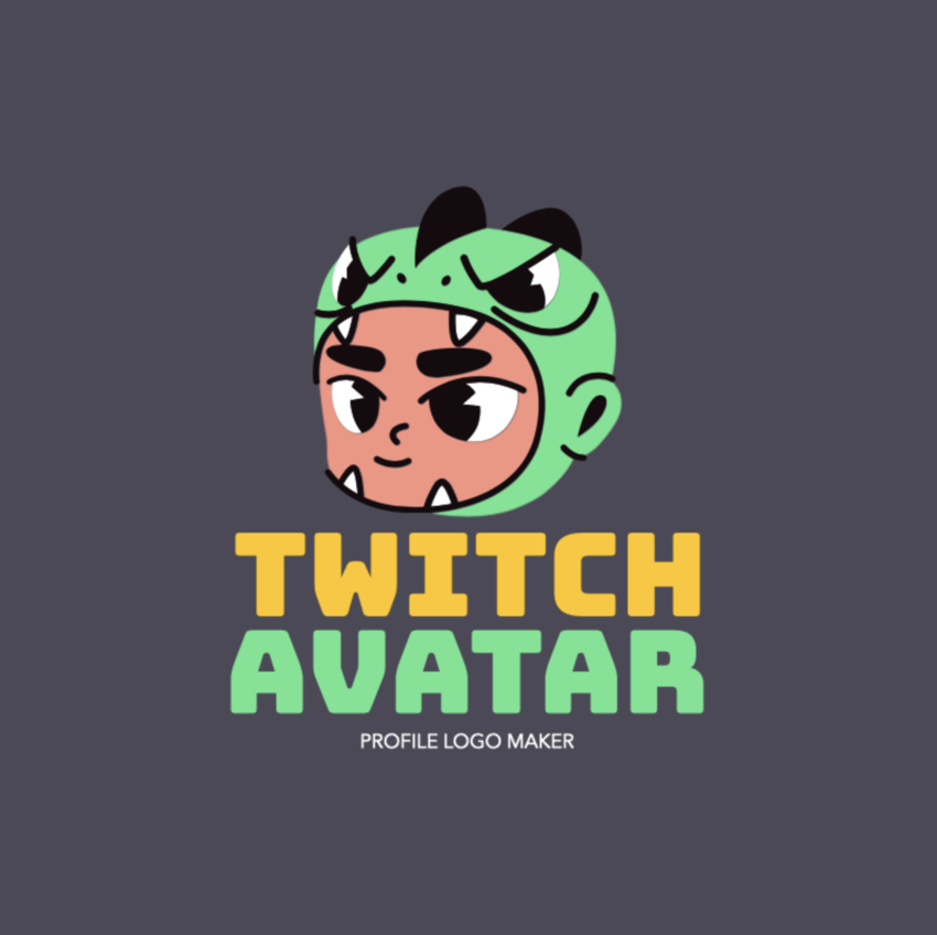 Gaming Logo Maker for a Twitch Avatar