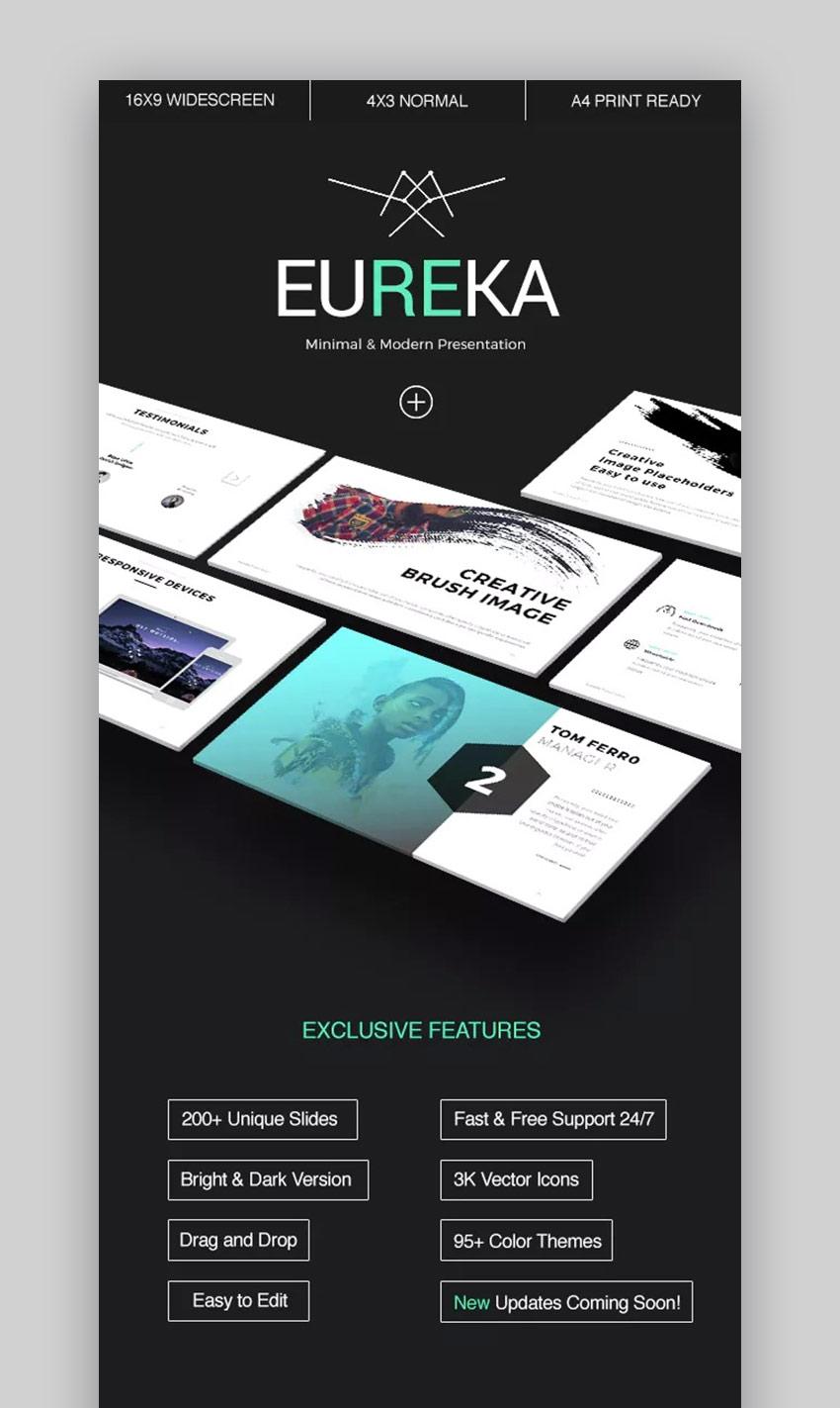 Eureka Minimal PowerPoint Template