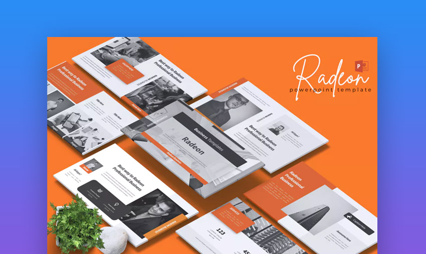 Radeon Business PowerPoint Template