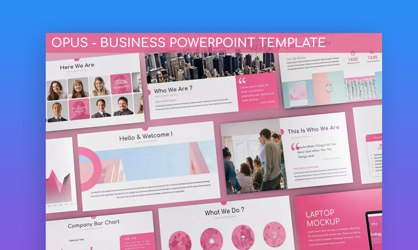 Opus Business PowerPoint Template
