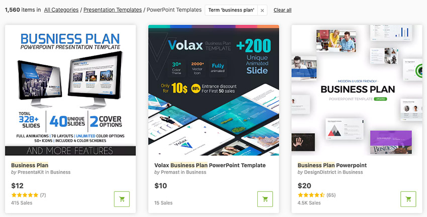 Business Plan GraphicRiver