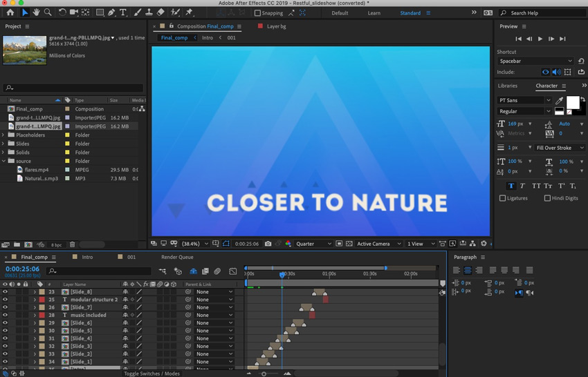 How to Make a Video Slideshow in After Effects (With Template)