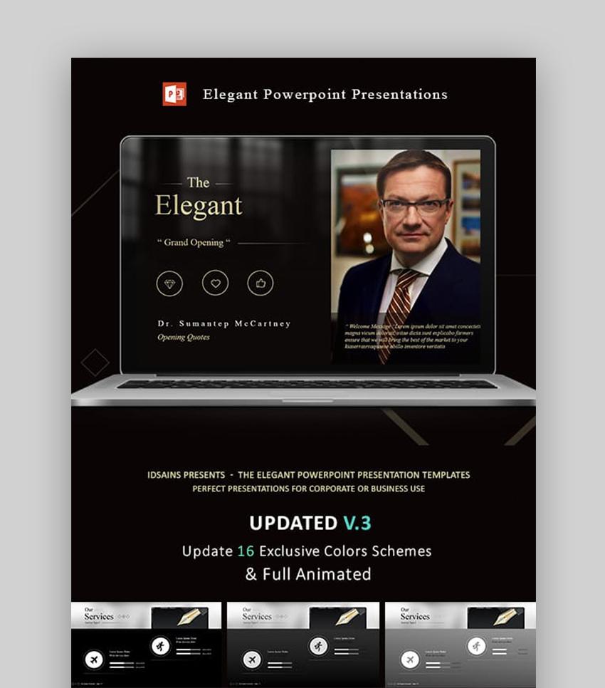 The Elegant PowerPoint Presentation