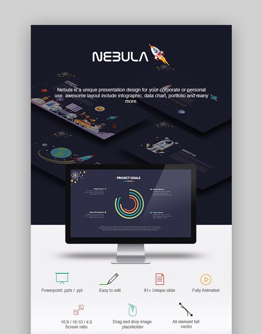 Nebula PowerPoint Presentation